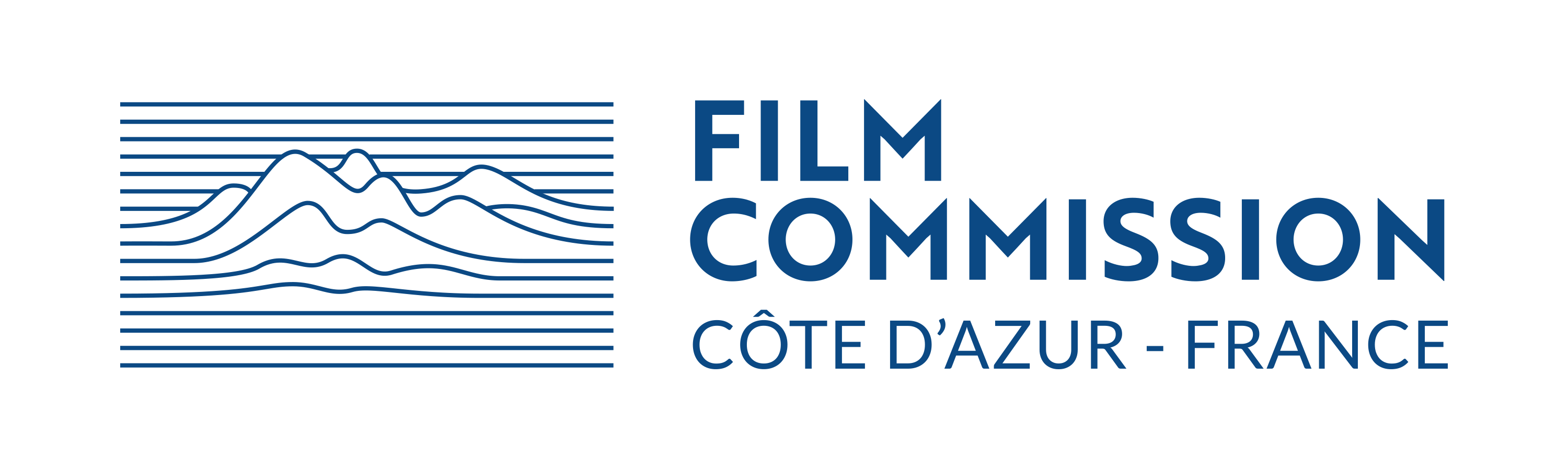 Film Commission Logo - Blue