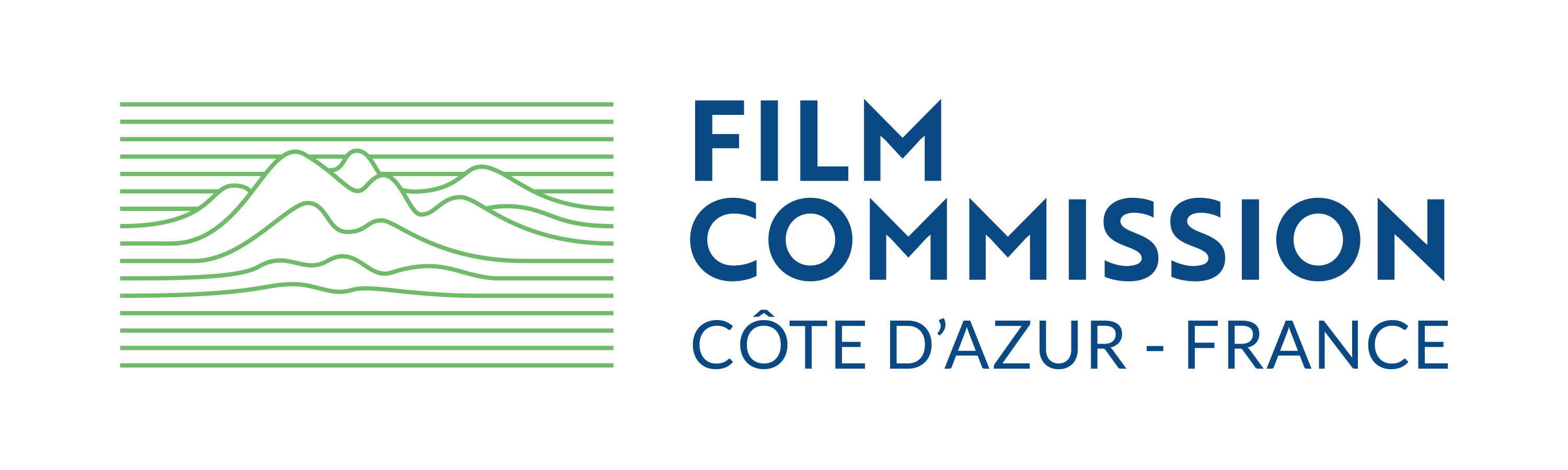 Film Commission Logo - Green & Blue