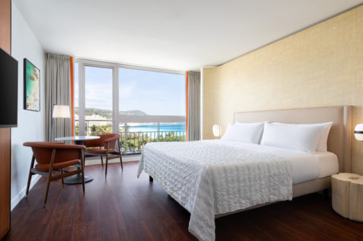 New - King Deluxe Garden And Sea View Guest Room